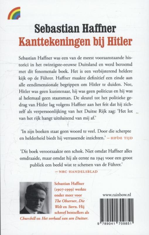 Sebastian Haffner,Kanttekeningen bij Hitler