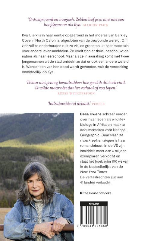 Delia Owens,Daar waar de rivierkreeften zingen