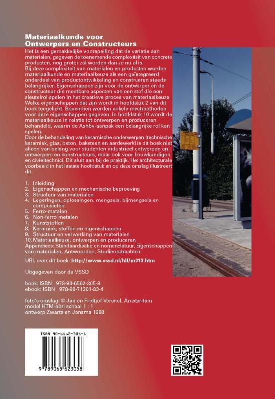 P. Mourik, Johannes van Dam,Materiaalkunde voor ontwerpers en constructeurs