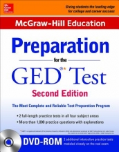 McGraw-Hill Education Editors McGraw-Hill Education Preparation for the GED Test with DVD-ROM