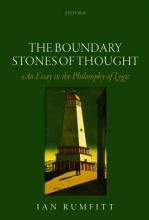 Ian Rumfitt The Boundary Stones of Thought