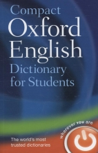 Oxford Dictionaries Compact Oxford English Dictionary for University and College Students