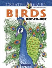 Arkady Roytman Creative Haven Birds Dot-to-Dot