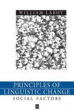 William Labov Principles of Linguistic Change