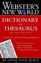 Webster`s New World Dictionary and Thesaurus