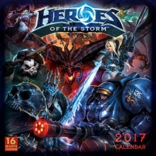 Heroes of the Storm 2017 Calendar