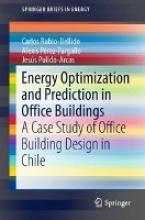Rubio-Bellido, Carlos Energy Optimization and Prediction in Office Buildings