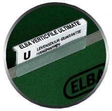 , Ruiterstrook tbv Elba Verticfile ruiters 65x16mm wit