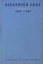 Lenz, Siegfried Essays I. 1956 - 1982