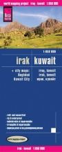 , Reise Know-How Landkarte Irak, Kuwait 1 : 850.000