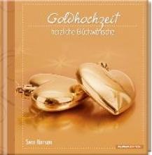 Geschenkbuch - Goldhochzeit - herzliche Glckwnsche - (11 x 11,5)