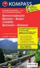 , Kompass FTK7051 Brenner-Bozen-Radweg