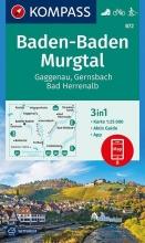 , Baden-Baden, Murgtal, Gaggenau, Gernsbach, Bad Herrenalb 1:25 000