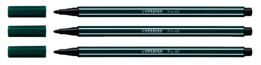 , Viltstift STABILO Pen 68/53 turquoise groen
