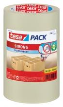 , Verpakkingstape Tesa 50mmx66m transparant PP 3rol