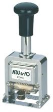 , Numeroteur kw-trio 206 met 6 cijfers