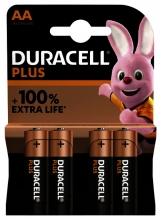 , Batterij Duracell Plus 4xAA