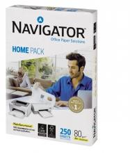 , Kopieerpapier Navigator Homepack A4 80gr wit 250vel