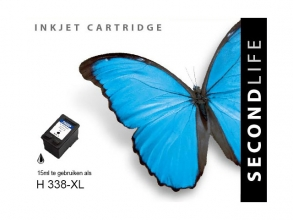 , *Cartridge SecondLife HP 338 XL zwart