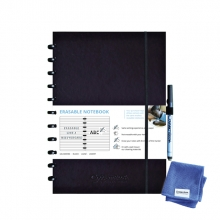 , Notitieboek Correctbook A4 lijn 40blz midnight blue