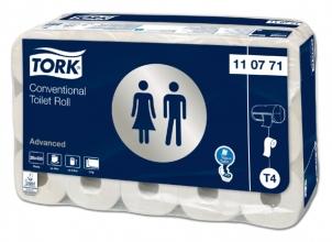 , Toiletpapier Tork T4 110771 Advanced 2laags 400vel 30rollen wit