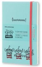 , Moleskine LE Notitieboek Toy Story Large (13x21 cm) Blanco Lichtblauw