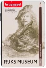 , Potloden Bruynzeel Rembrandt diverse hardheden blik à 12 stuks