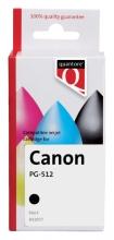 , Inktcartridge Quantore Canon PG-512 zwart