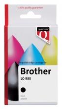 , Inktcartridge Quantore Brother LC-980 zwart