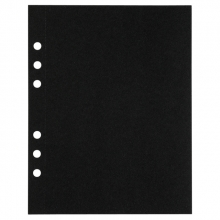, Tekenpapier MyArtBook A5 210gr 6-gaats 10vel zwart