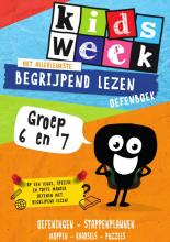 Kidsweek , Het allerleukste begrijpend lezen oefenboek Groep 6 en 7
