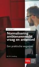 P.  Lunenburg Normalisering ambtenarenrecht vraag en antwoord