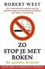 Robert  West Zo stop je met roken - De gouden formule (POD)