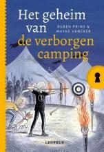 Ruben Prins  Mayke Vaneker, Het geheim van de verborgen camping