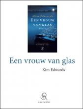 Kim  Edwards Een vrouw van glas (grote letter) - POD editie