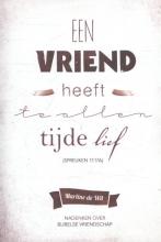 Martine de Wit Nadenken over Bijbelse Vriendschap
