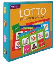 , Lotto Eerste woorden lezen