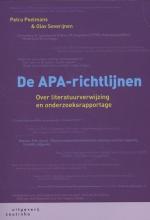 Petra  Poelmans, Olav  Severijnen De APA-richtlijnen