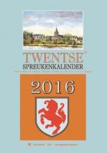 Gé  Nijkamp Twentse spreukenkalender  2016