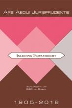 , Jurisprudentie inleiding privaatrecht 1905-2016