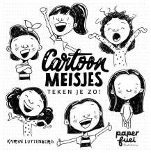Karin Luttenberg , Cartoonmeisjes teken je zo!