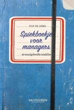 Tjip de Jong Spiekboekje voor managers