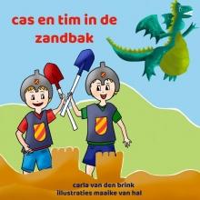 Carla Van den Brink , cas en tim in de zandbak