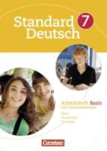 ,Standard Deutsch 7. Schuljahr. Arbeitsheft Basis
