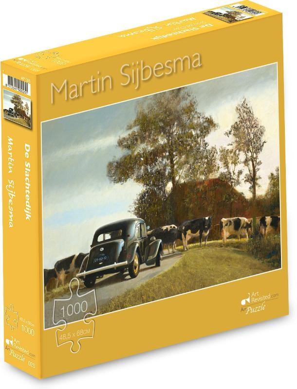 ,Martin Sijbesma - De Slachtedijk  - Puzzel 1000 stukjes