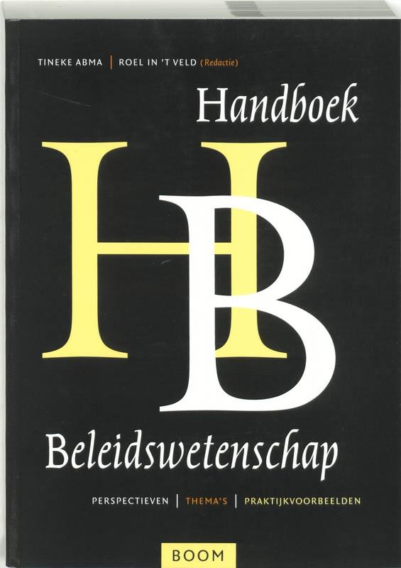 ,Handboek beleidswetenschap