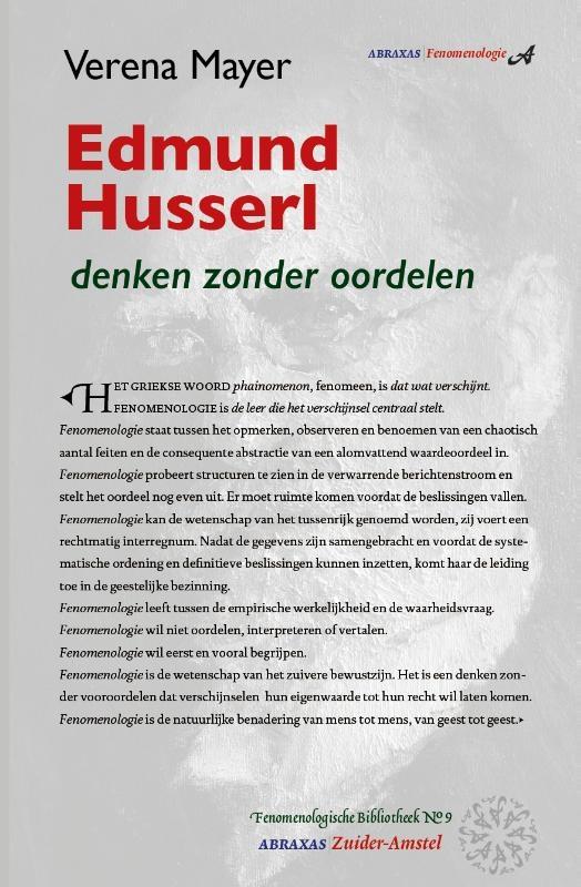 Verena Mayer,Edmund Husserl
