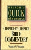 Wiersbe, Warren W.,Nelson`s Quick Reference Chapter-By-Chapter Bible Commentary