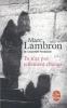 <b>Lambron, Marc</b>,Tu n`a pas tellement change
