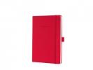 ,notitieboek Sigel Conceptum Pure hardcover A5 rood          gelinieerd